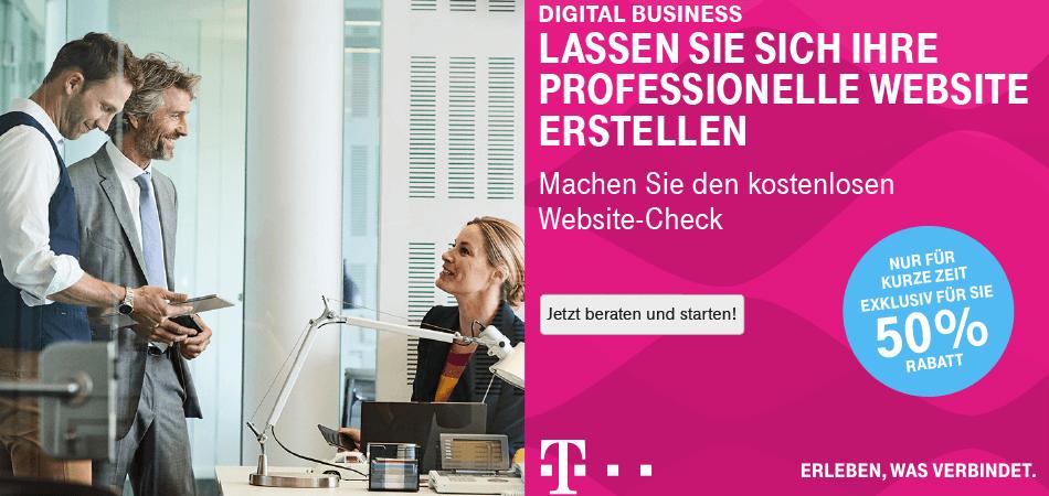 Neues Telekom Angebot Individuelle Website Cdh Wirtschaftsverband