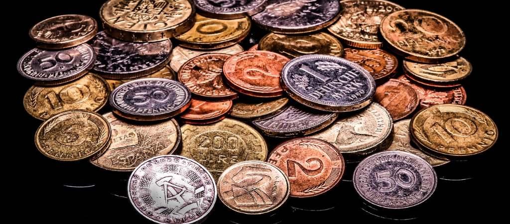 deutsche Geldmünzen