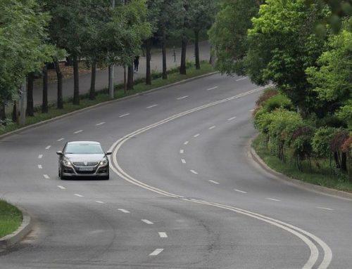 Parken in scharfer Kurve erlaubt?